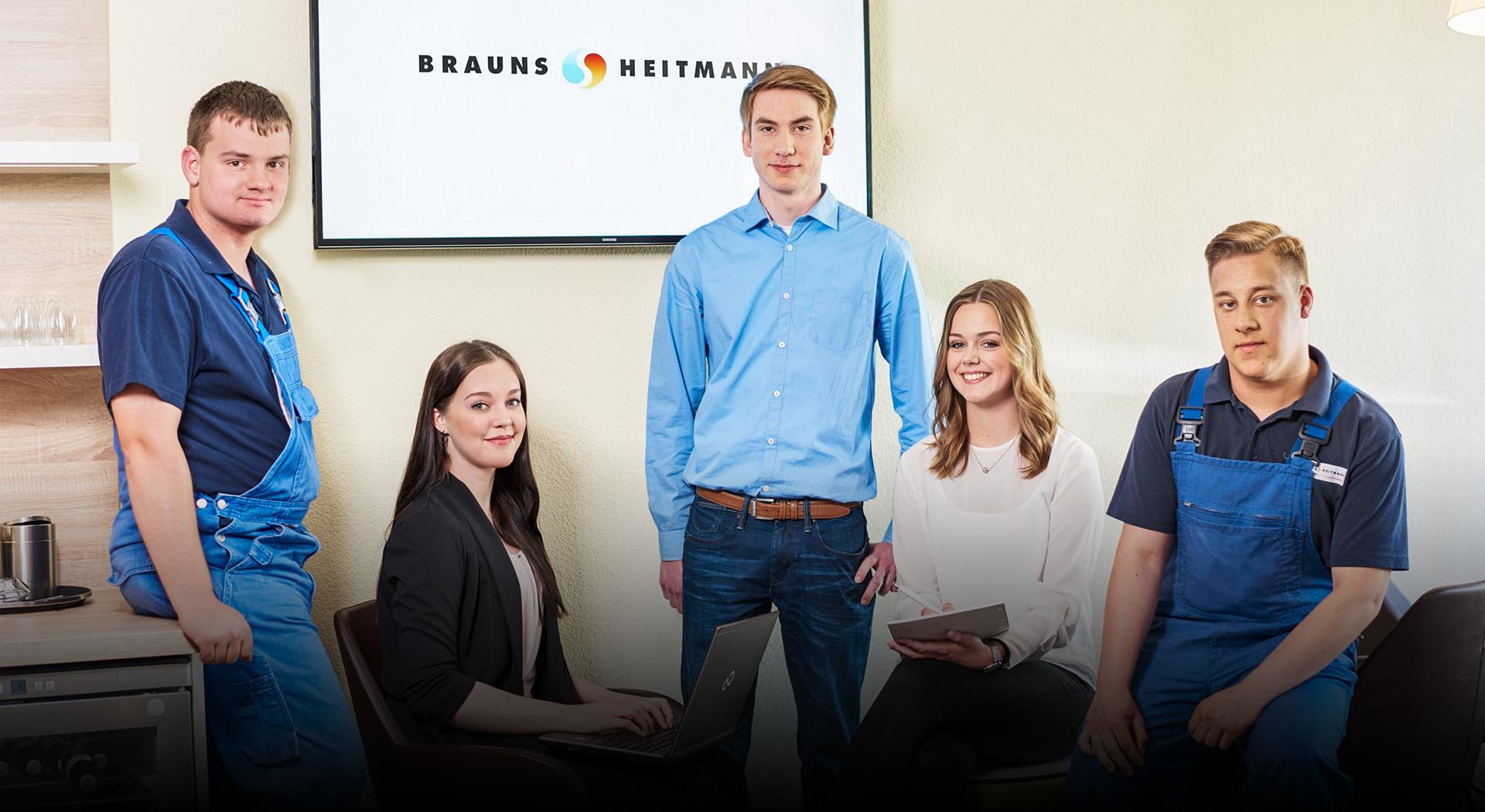 Ausbildung bei <br>Brauns-Heitmann